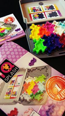 IQ splash de smartgames puzle solitario de lógica