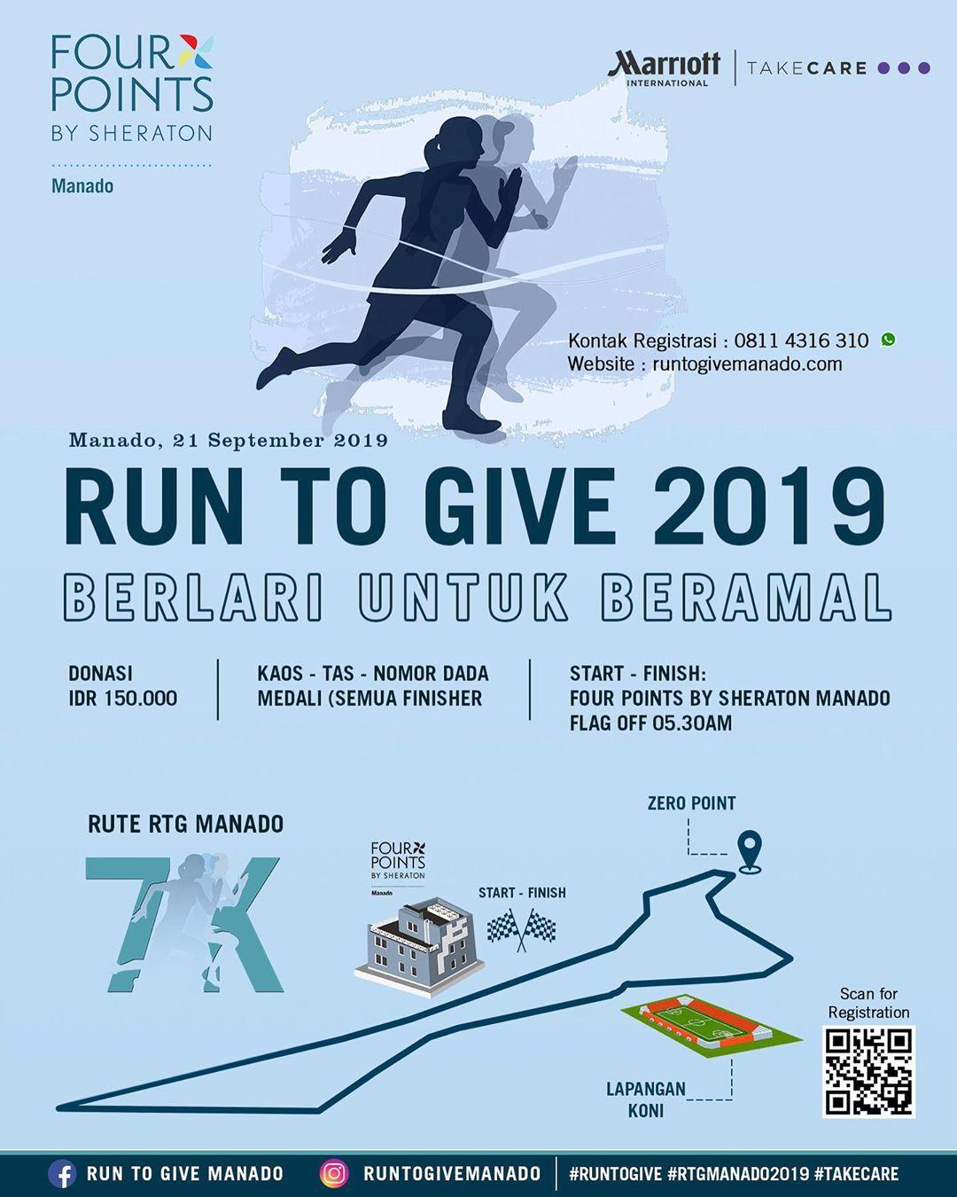 Run to Give - Manado • 2019