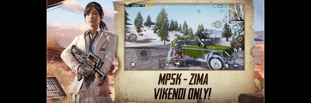 PUBG Mobile MP5K Zima