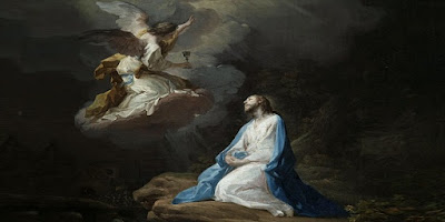 imagem de Jesus rezando