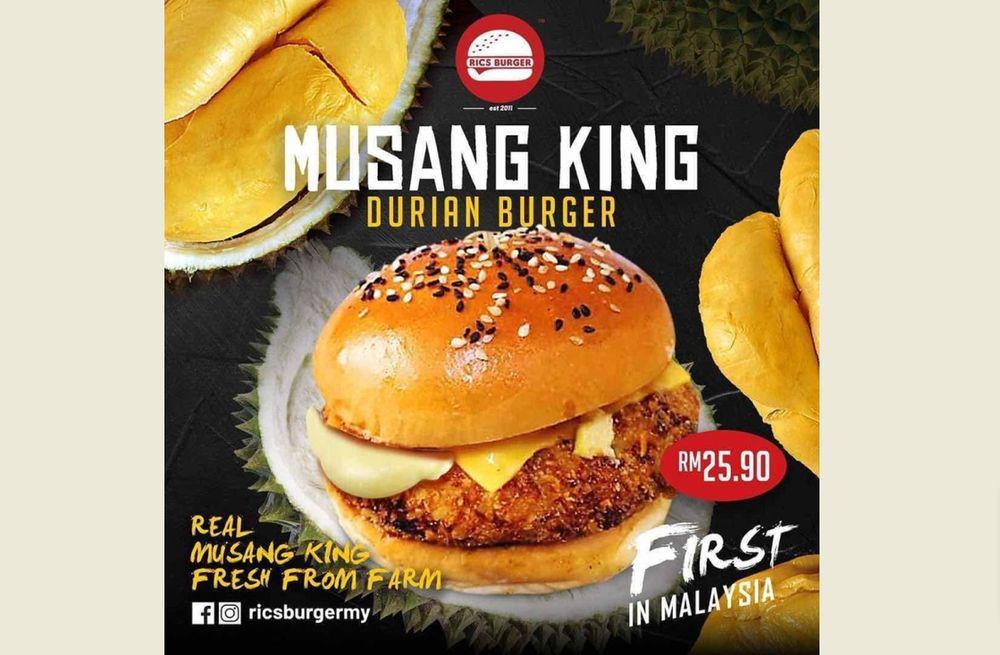 burger durian
