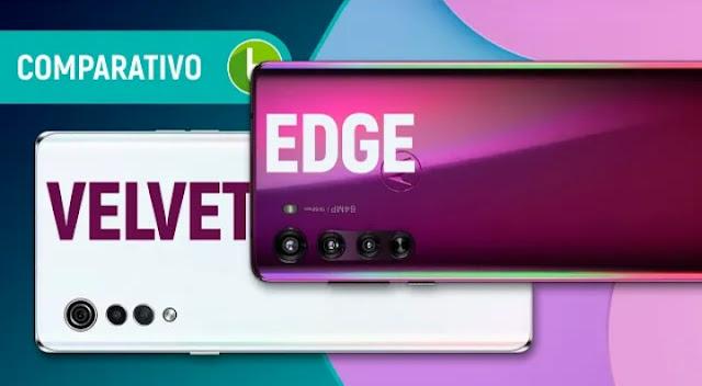 LG Velvet vs Motorola Edge