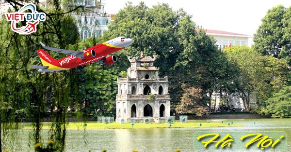 Đại lý bán vé máy bay đi Hà Nội