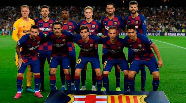 قائمة برشلونة التي ستخوض مباراة نابولي