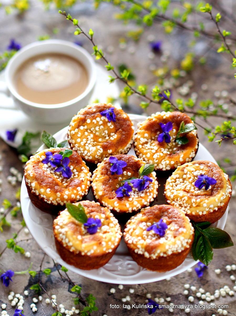 babeczka, muffinki, z_bananem, ser_biały, banany, ciastka, deser