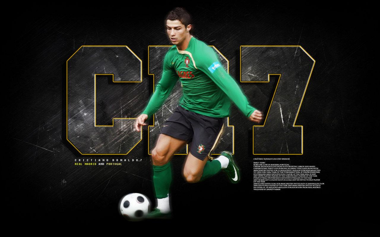 Football Cristiano Ronaldo Hd Wallpapers: Football Super Star Player: Cristiano Ronaldo New HD