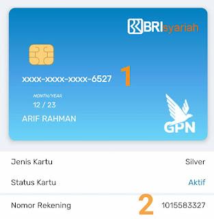 Beda Nomor Rekening dan Nomor Kartu ATM