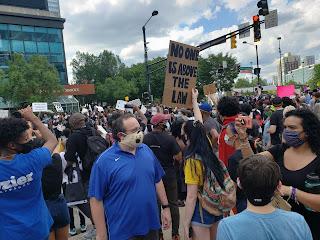 Protest / March in Atlanta - George Floyd