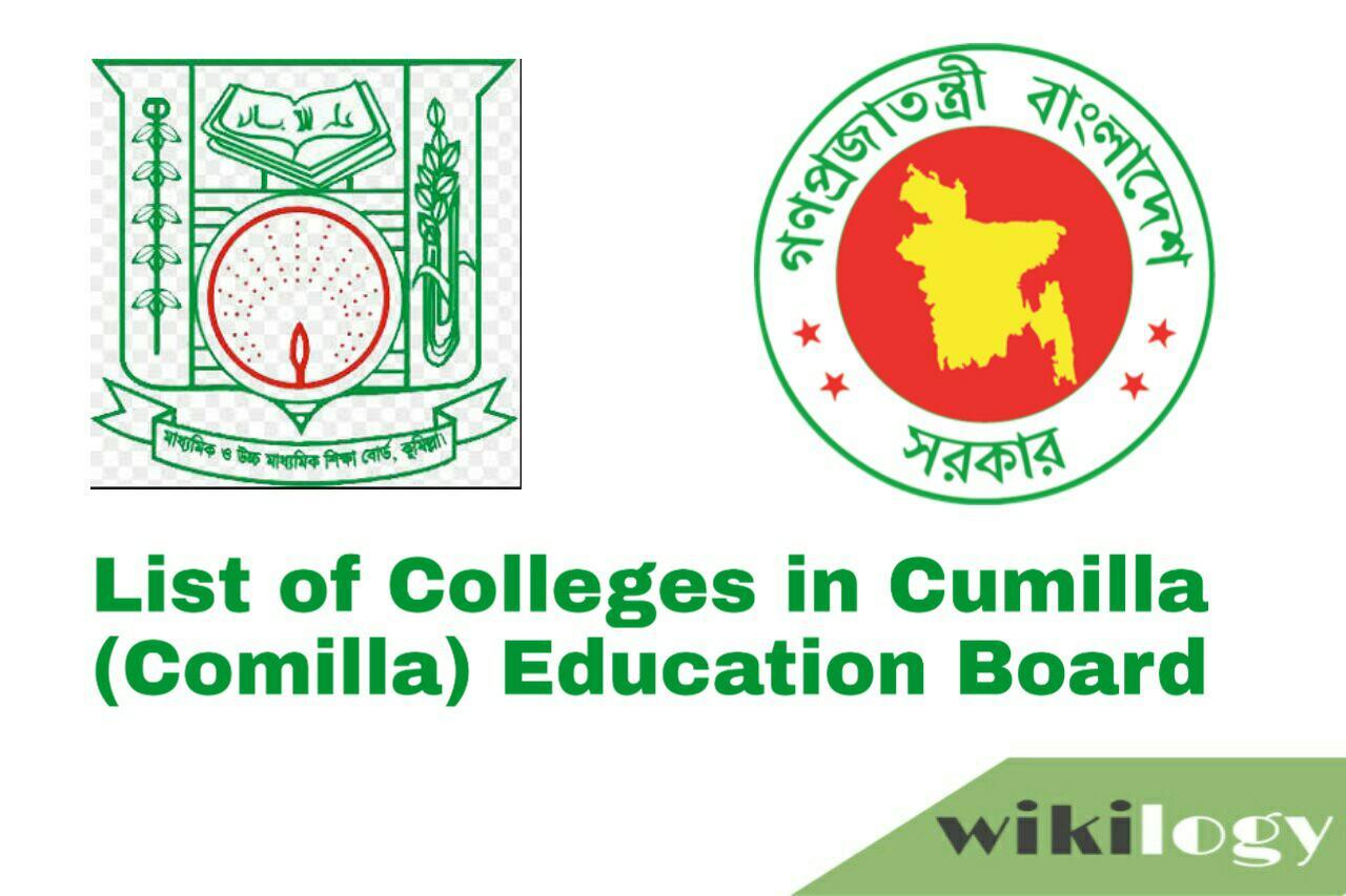 List of College in Cumilla (Comilla) Board with EIIN