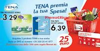 Logo Concorso ''Tena premia la tua spesa'' con buoni spesa da 25€
