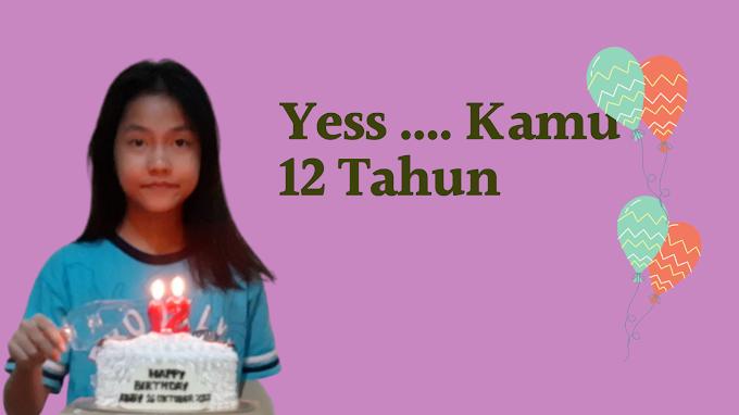 Yess Kamu 12 Tahun