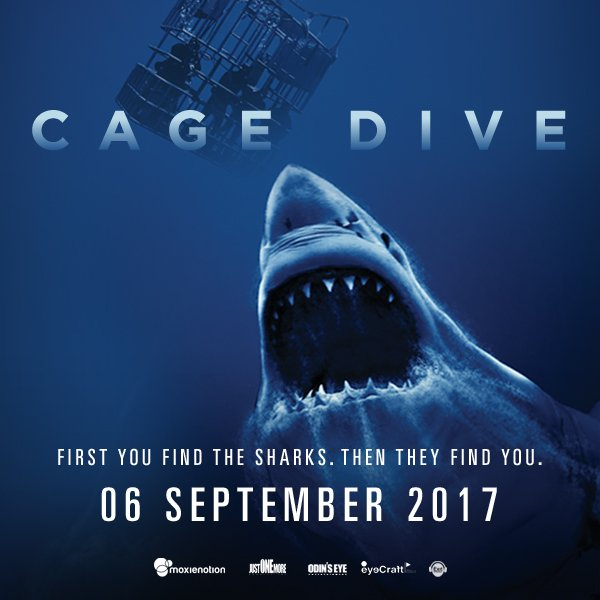 cage dive full movie 2017