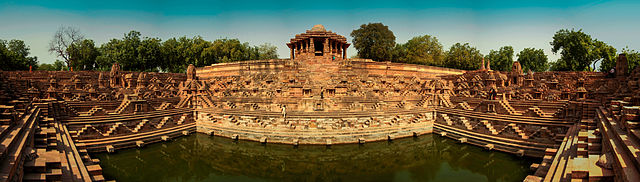 Panaromic View of Modhera Sun Temple
