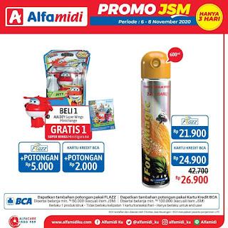 Promo ALFAMIDI JSM Weekend periode 06-08 November 2020