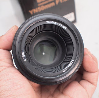 Jual Lensa Fix 50mm AFS for Nikon - Yn-Yongnuo 50mm