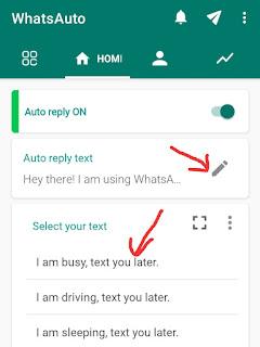 WhatsApp Par Auto Reply Kaise Kare