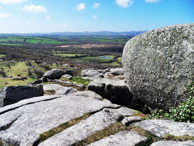 Granite at Helman Tor, Cornwall