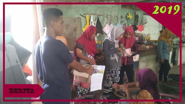 Aksi Galang Dana PMII Bawean Untun Pengobatan Ibu Wasilah, Penderita Kanker Payudara