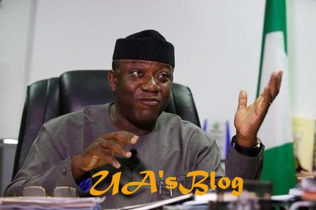 Ekiti 2018: Buhari's minister, Fayemi officially declares interest