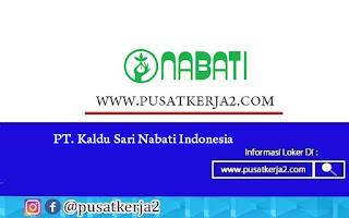 Lowongan Kerja SMA SMK PT Kaldu Sari Nabati Indonesia Desember 2020