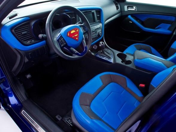 New 2013 kia optima hybrid superman design a new car - Superman interior designs ...