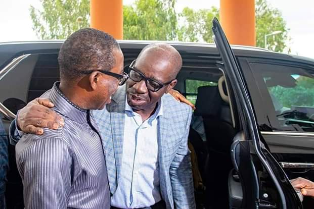 Okowa Salutes Obaseki at 60, Lauds His Ingenuity In Working Tirelessly To Industrialize Edo.