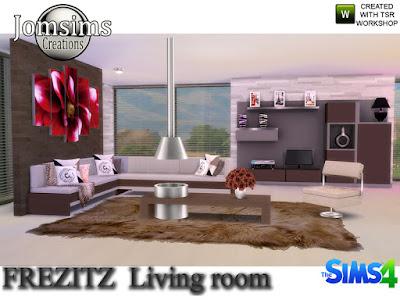 Frezizt Modern Living Room Фрезизт Современная гостиная для The Sims 4 Современный, удобный с чистыми линиями тон. Бежевый, коричневый и черный. Украсить предметами украшения. -1 диван модерн -1 диван 2 модерн. используйте bb.moveobjects для создания угла. Симы могут сидеть 6 человек. И ноги симов не проходят через диван. Любая анимация, рассадка идеальна. -1 каминный журнальный столик. категойр камин. для размещения таблицы в центре используется .bb.moveobjects -1 ваза deco. 3 цвета -1 секунда ваза деко. 3 цвета -3 разные картины -1 х3 подушки деко для дивана. Несколько разных цветов. -1 большая мебель .. разное поверхность -1 система деко DVD. категория беспорядки. 2 цвета -1 настольная лампа. черный или серый белый -1 плед деко для дивана. 4 цвета -1 маленький стол для рисования. Нью-Йорк. London.Paris -1 столовая роза деко. 3 разных цвета Создайте свою современную и незагроможденную атмосферу. Автор: jomsims