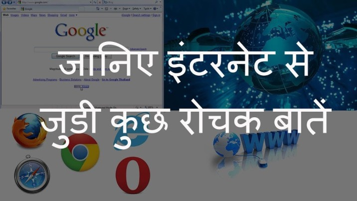 Amazing Facts of Internet
