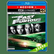 Rápido y furioso (2001) Ultra HD BDREMUX 2160p Latino