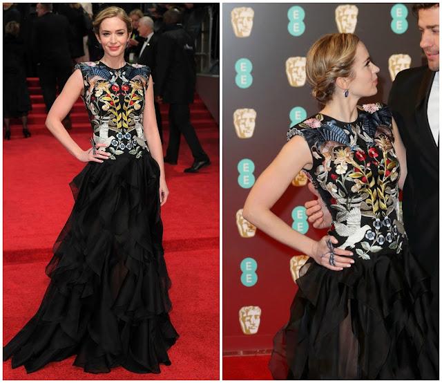 Emily Blunt BAFTAS 2017