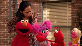 Elmo, Leela, Judy, Abby Cadabby, lobster, Sesame Street Episode 4419 Judy and the Beast season 44