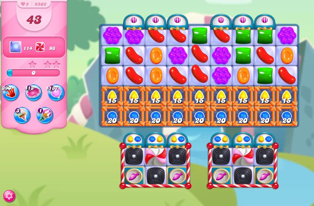 Candy Crush Saga level 9502