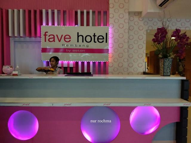 lobby fave hotel rembang