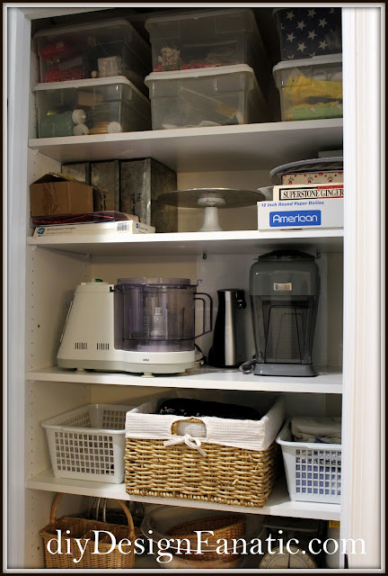 Pantry, closet , Organization, Organize, Cottage, Cottage Style, Farmhouse Style