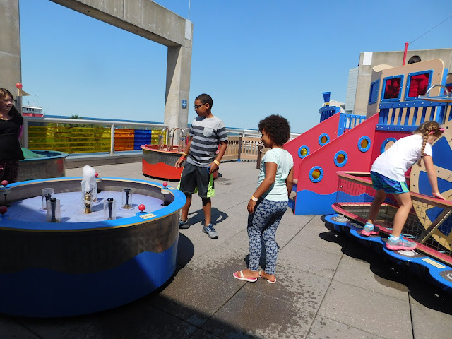Great Lakes Science Center water fun #StayCuriousCLE