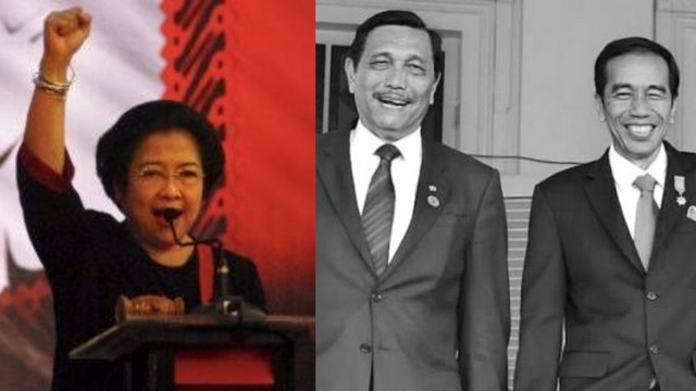 Megawati dan Luhut Memanas, Mulai Beradu Kuat Siapa Paling Mampu Kendalikan Jokowi