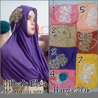 Jilbab Instan Cantik Murah Elsa