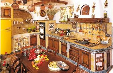 Decoraci n de cocinas r sticas colores en casa - Decoracion casas de campo rusticas ...