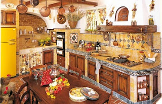 Foto de cocina rústica