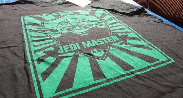 Vanilla Underground Merchandise review Yoda Jedi Master T-shirt