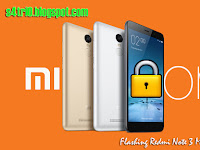 Flashig Redmi Note 3 MTK ter Lock Bootloader