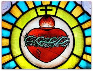 Vitral - Igreja Sagrado Coração de Jesus, Restinga Seca