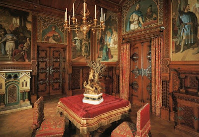 Schloß Neuschwanstein, King Ludwig's Dining Room