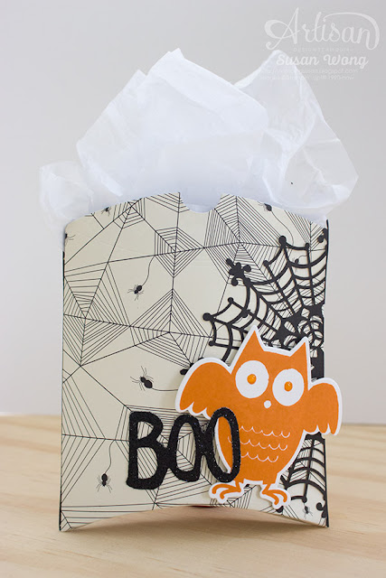 Howl-O-Ween Treats + Boo to You Goodie Bags ~ Susan Wong