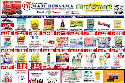 Katalog Promo Maximart Pasar Swalayan Weekend 20 - 23 Juni 2019