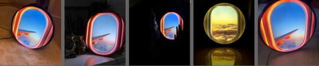 airplane window lamps