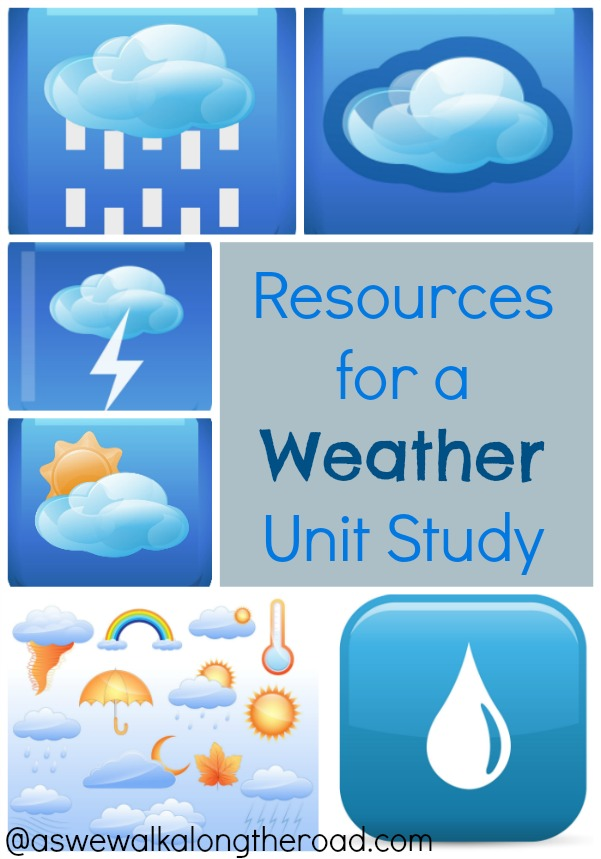 Resources for a weather unit study