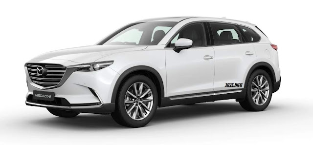 All New Mazda CX9 putih