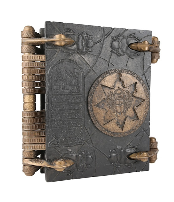 Mummy Book of the Dead movie prop