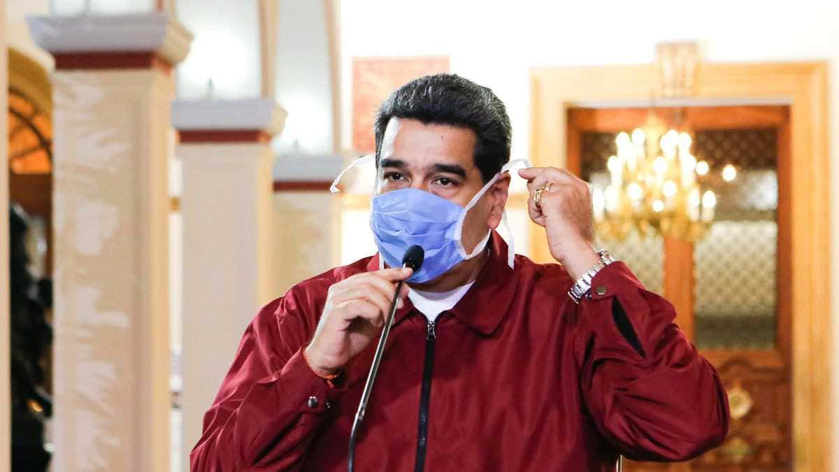 """Venezuela encontró """"una medicina que anula al 100% el coronavirus"""", según Maduro"""